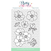 Pretty Pink Posh Anemones Clear Stamps