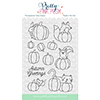 Pretty Pink Posh Pumpkin Patch Critters Clear Stamps