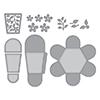 Spellbinders Swirl Hexagon Petal Box Dies