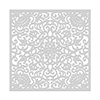 Hero Arts Ornate Floral Stencil 6x6