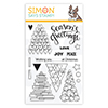 Simon Says Clear Stamps Festive Trees