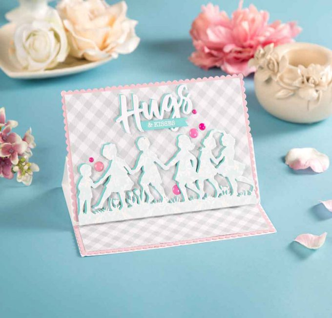 Spellbinders | Easy Silhouette Card Ideas with Yana Smakula as seen in Die-cutting Essentials Magazine #41 #spellbinders #diecutting #yscardmaking #handmadecard #silhouettecard #diycard