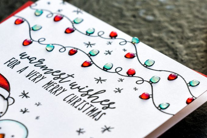 STAMPtember | Neat & Tangled - Minimalistic Christmas Card Trio featuring Neat & Tangled Clear Stamps Holiday Helpers Sss101923 Stamptember Exclusive #ydcardmaking #neatandtangled #christmascard #minimalisticcard #stamping