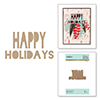 Happy Holidays Glimmer Hot Foil Plate