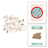 Making Spirits Bright Glimmer Hot Foil Plate