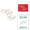 Copperplate Merry & Bright Glimmer Hot Foil Plate