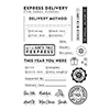 Hero Arts Clear Stamp Holiday Labels