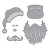 Spellbinders Santa Etched Dies S3-359