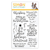Simon Says Clear Stamps Christmas Wishes