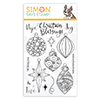 Simon Says Clear Stamps Ornate Ornaments