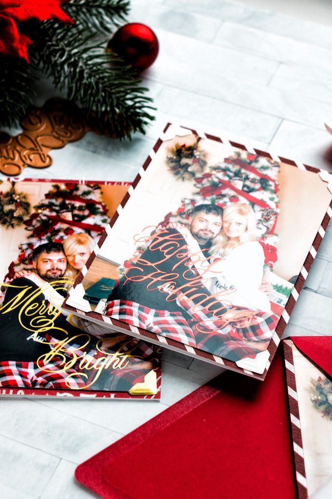 Spellbinders Glimmer | Hot Foiled Holiday Photo Cards. Video