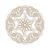 Elegant Circle Glorious Glimmer Hot Foil Classic Plates