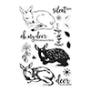 Hero Arts Color Layering Clear Stamps Fawn