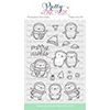 Pretty Pink Posh Penguin Pals Stamps