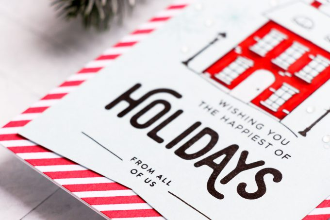 Simon Says Stamp | Happy Holidays Card. Video