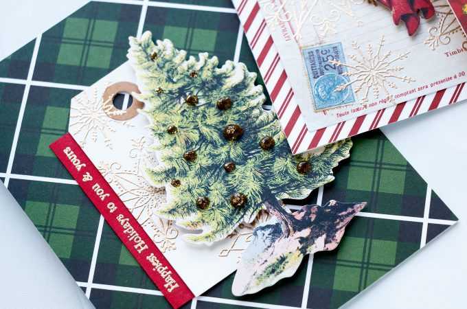Simon Says Stamp | Limited Edition Holiday Card Kit - 5 Vintage Holiday Cards. Video