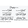 My Favorite Things Beautiful Blessings 2 Stamps
