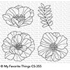 My Favorite Things Brilliant Blooms Stamps