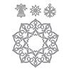 Spellbinders Charming Snowflake Doily
