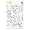 Simon Says Clear Stamps Birthday Numbers