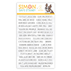 Simon Says Clear Stamps Simple Sentiments 2