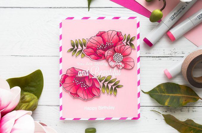 Handmade Female Birthday Card Idea Video Tutorial By Yana Smakula For My Favorite Things