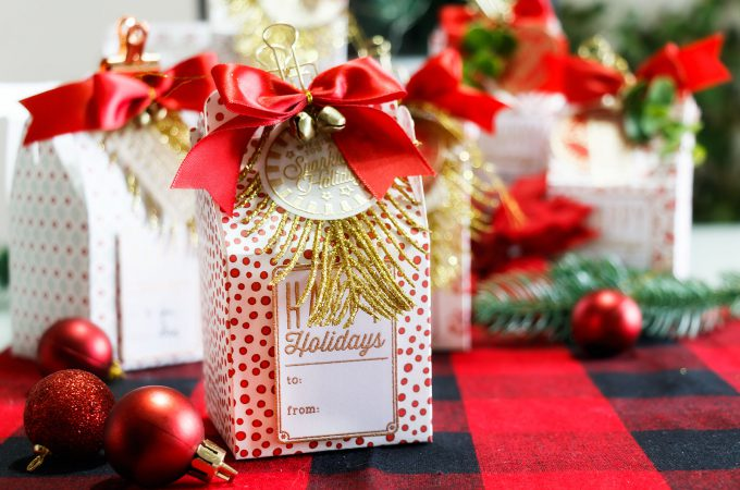 Last Minute Christmas Gift Box Ideas for Small Gifts. Video tutorial. Handmade gift boxes by Yana Smakula.