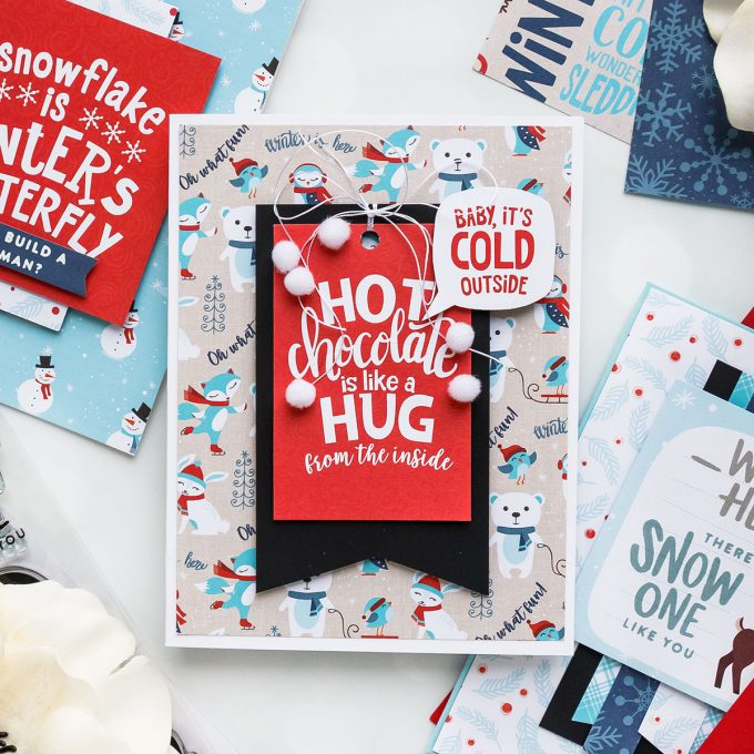 Cardmaking for Beginners | Simon Says Stamp January 2019 Card Kit Cards