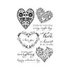 Hero Arts All My Love Decorative Hearts