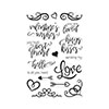 Hero Arts You Are Loved Flourish Messages