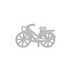 Bicycle with Basket Fancy Die (C)