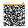 Simon Says Cling Rubber Stamp Damask Background
