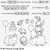 My Favorite Things Birth-Yay Clear Stamps