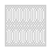 Hero Arts SA127 Graphic Deco Stencil 6x6