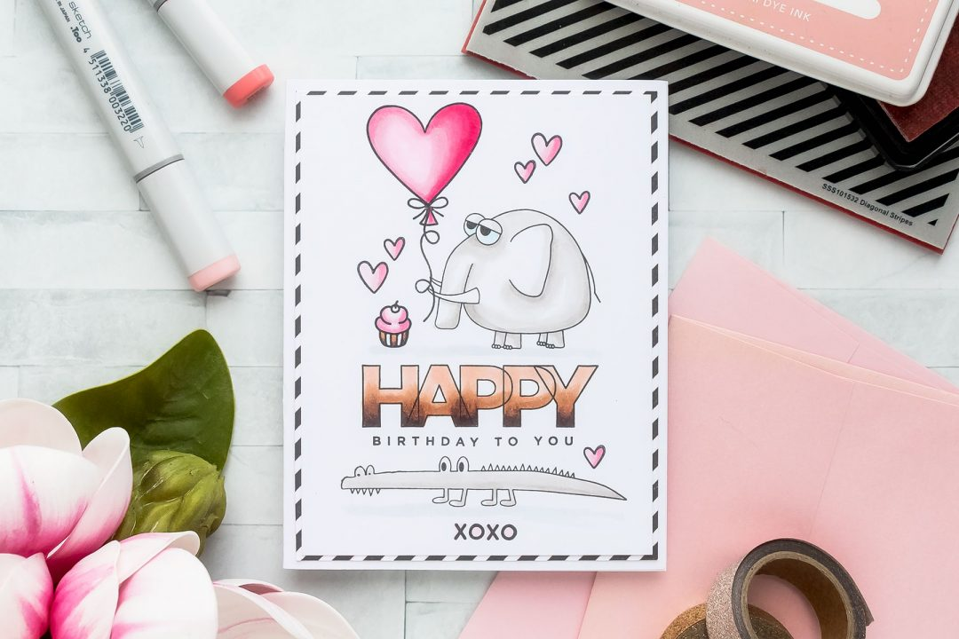 Simon Says Stamp | Elephant Birthday!