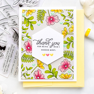 Simon Says Stamp | Spring Inspired Thank You Card. Video