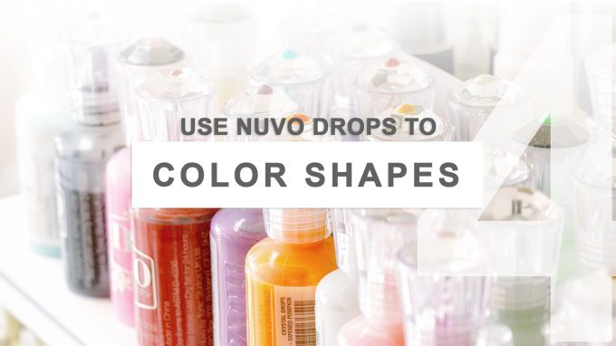 5 Ways to Use Nuvo Drops by Tonic Studios in Card Making. Video tutorial.