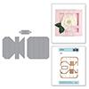 "Spellbinders Adjustable Shadowbox Frame with 1"" Border"
