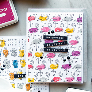 Simon Says Stamp   Faux Fingerprint Stamping – Quick & Funny Stamped Patterns.