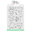 Pretty Pink Posh Elephant Friends Stamp Set