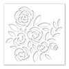 Simon Says Stamp Stencil Bouquet of Roses
