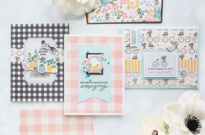 Simon Says Stamp | Trio of Cards with April Card Kit