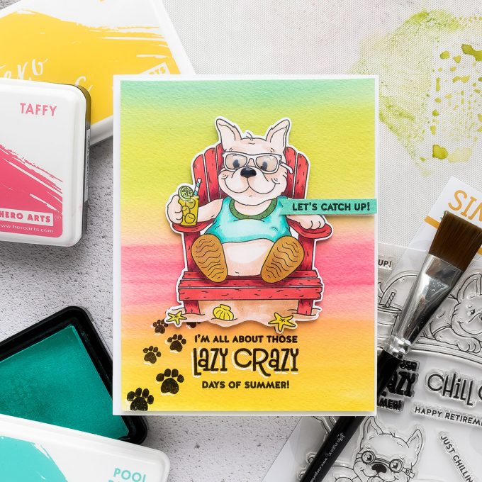 Simon Says Stamp | Lazy Crazy Days of Summer