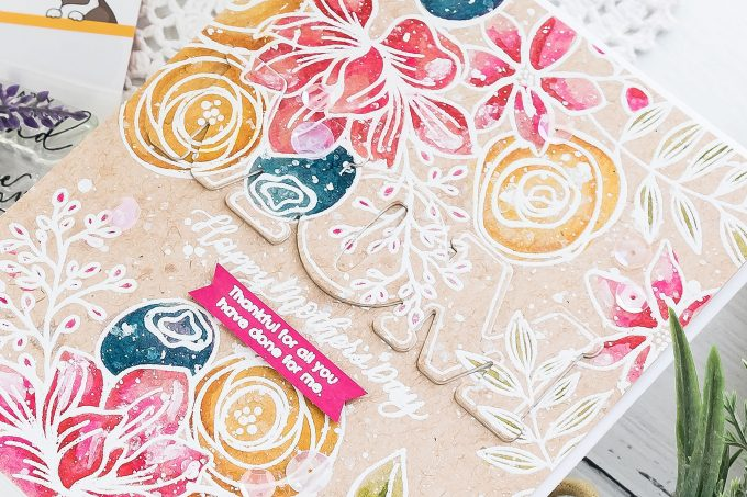 Watercolor Mother's Day Card   Simon Says Stamp   Video tutorial by Yana Smakula