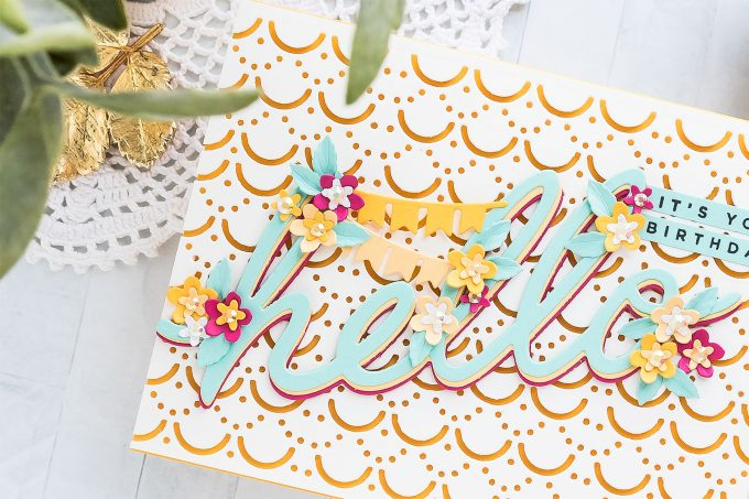 Die-cut Birthday Card Ideas | Spellbinders Large Die of the Month | Video