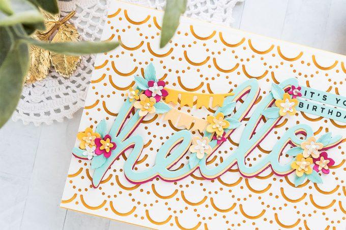 Die-cut Birthday Card Ideas | Spellbinders Large Die of the Month | Video