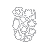 Hero Arts Tropical Flowers Frame Cuts (D)