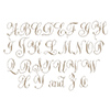 Spellbinders Copperplate Majuscules Glimmer Hot Foil Plate