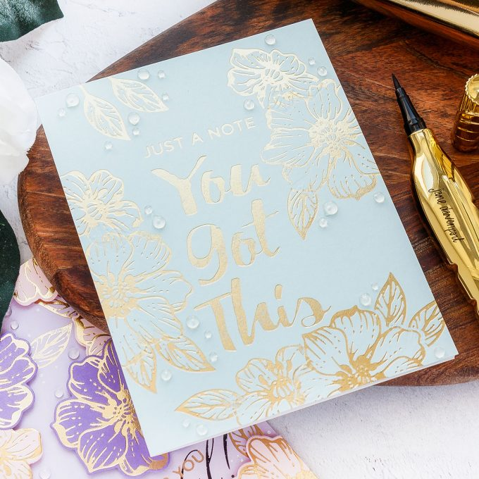 Glimmer Hot Foil Stamping Tips | Video Tutorial by Yana Smakula. Learn how to hot foil like a PRO!