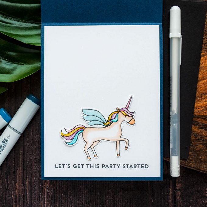 My Favorite Things | Galaxies & Unicorns Birthday Card. Video